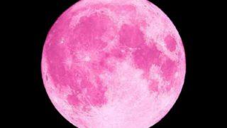 ピンクムーンの意味とは?恋愛成就にご利益のある願い事のやり方